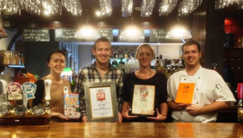 Bunbury pub near Nantwich claims more national awards