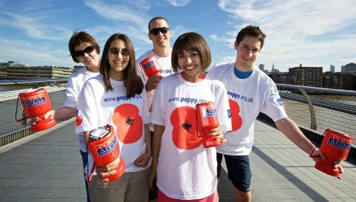 Royal British Legion needs Poppy Appeal help in Nantwich