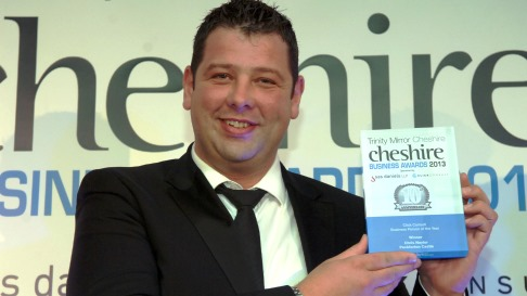 Peckforton Castle boss scoops Cheshire Business Person of the Year