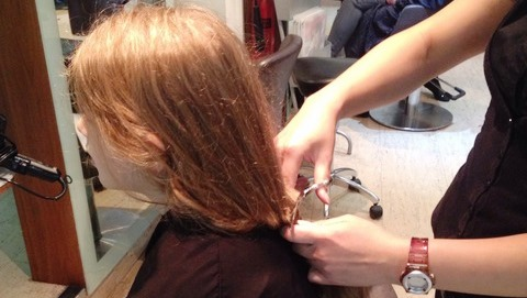 Wybunbury schoolgirl donates hair to help young cancer sufferers