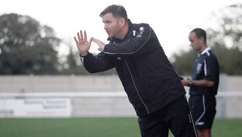 Nantwich Town boss Danny Johnson praises fans after Chorley defeat