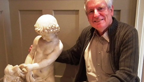 Nantwich man to auction rare Victorian sculpture found under a house