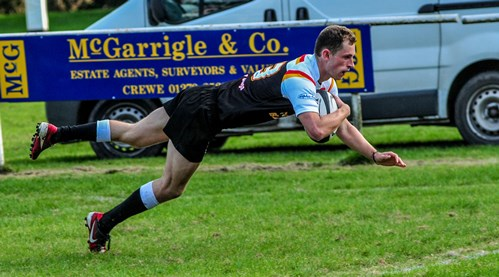 Crewe & Nantwich RUFC maintain title charge with win over Old Saltlians