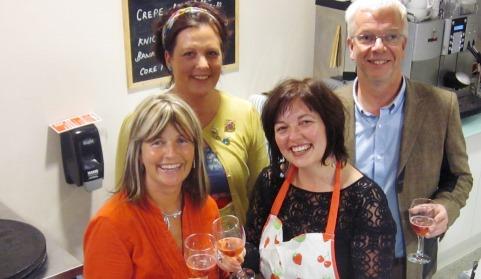 Swirly Whirlys Nantwich celebrates a year of hospice fund-raising