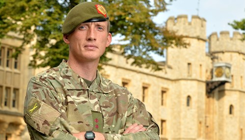 Hero army officer from Nantwich awarded the Military Cross