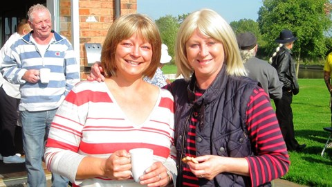 Swanley Bridge Marina coffee morning raises £800 for Macmillan Cancer