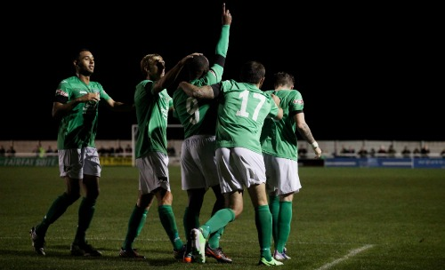 Nantwich Town deserved point against FC United, says boss Johnson