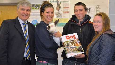 Reaseheath College in Nantwich earns National Pet Month honour