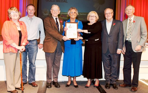 Nantwich celebrates North West in Bloom Gold Medal