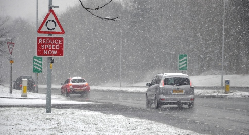 Cheshire fire crews in Nantwich to stage winter driving event