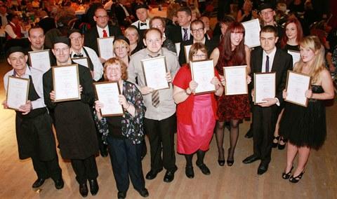 Lady Verdin Trust awards night held in Nantwich