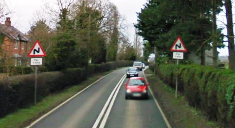 A530 Nantwich to Burleydam fifth most dangerous road in Britain