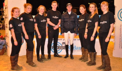 Reaseheath College students prove a hit at Horse of the Year Show