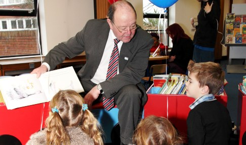 """Nantwich children boost record numbers for library """"reading challenge"""""""