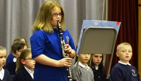 Willaston pupils perform at Brine Leas in aid of Alder Hey Hospital