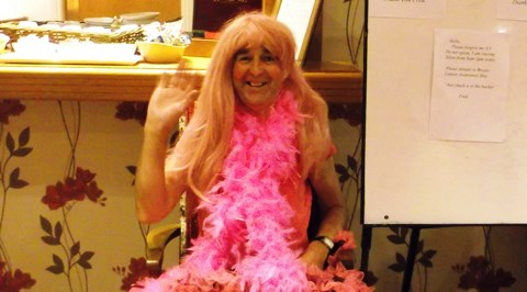 Richmond Village Nantwich turns pink for Breast Cancer Research