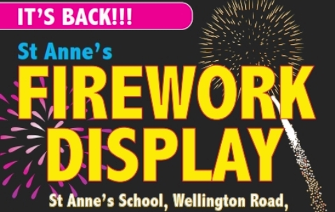 Nantwich St Anne's Primary school plans fireworks celebration