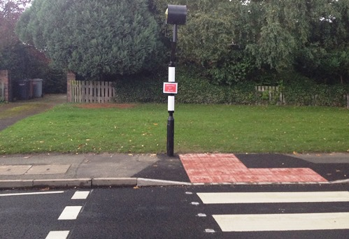 Wellington Road zebra crossing in Nantwich finally in use