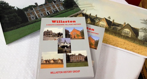 New book by Willaston History Group launched at Nantwich Bookshop