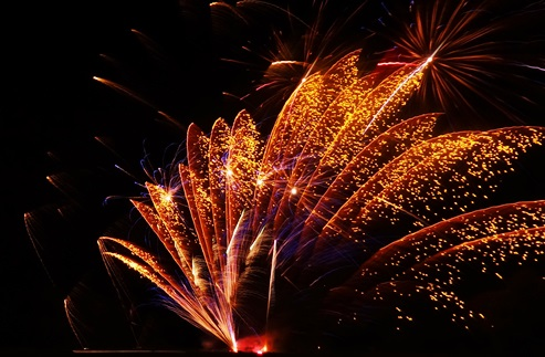 Wistaston fireworks