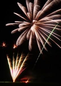 Wistaston fireworks 2013