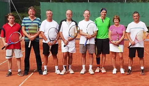 Wistaston Jubilee Tennis Club plays landmark Germany fixture