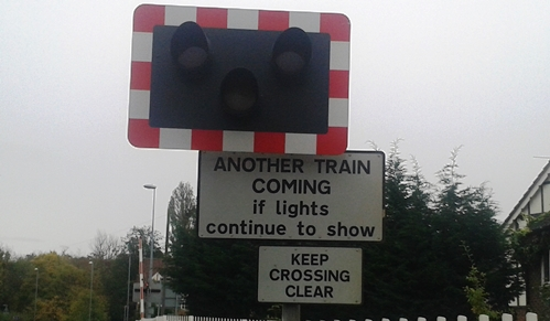 Rail signal failure sparks long delays at Nantwich level crossing