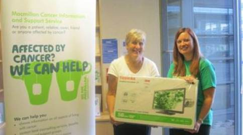 Leighton Hospital teams top league in Macmillan Cancer fundraiser