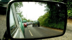 traffic delays (pic by Paula Bailey, Flickr creative commons licence)