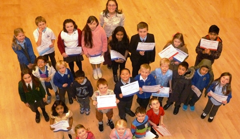 25 Kumon students celebrate awards success in Nantwich