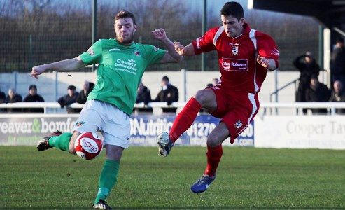 Evo-Stik match report: Nantwich Town 4 Stafford Rangers 1