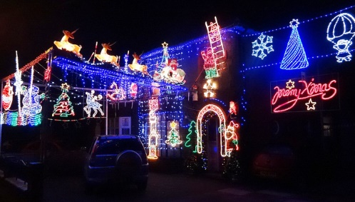 Christmas houses help light up Nantwich and Crewe