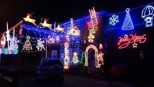 Christmas houses help light up Nantwich and Crewe