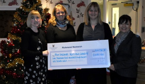 Nantwich fashion show raises £1,500 for hospitals charity