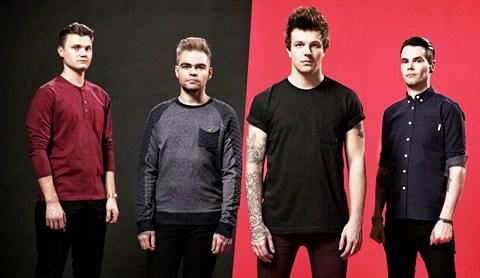 Nantwich rock band Blitz Kids to launch new album