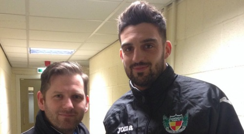 Fans' favourite Mat Bailey re-signs for Nantwich Town