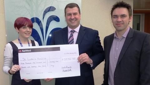 Amateur Nantwich chefs serve up £3,500 for St Luke's Hospice