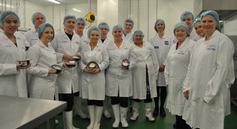 College students from Nantwich wow Tesco with new meals range