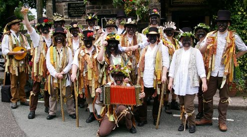 domesday morris men, Holly Holy Day
