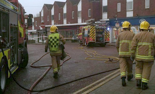 Update: Pizza Parlour blaze in Nantwich was accident, say fire crews