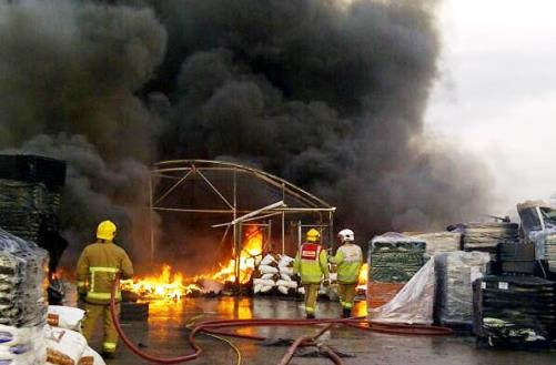 Major blaze battled by 25 firefighters at Hutchins in Crewe