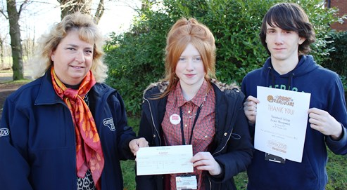 "Nantwich Reaseheath students go ""orange"" for Chester Zoo campaign"