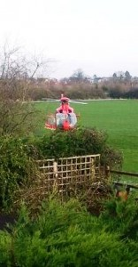 North West Air Ambulance at Bishop's Wood (pic by Nic Allen)