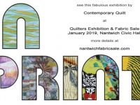 Quilters Exhibition and Fabric Sale returns to Nantwich Civic Hall