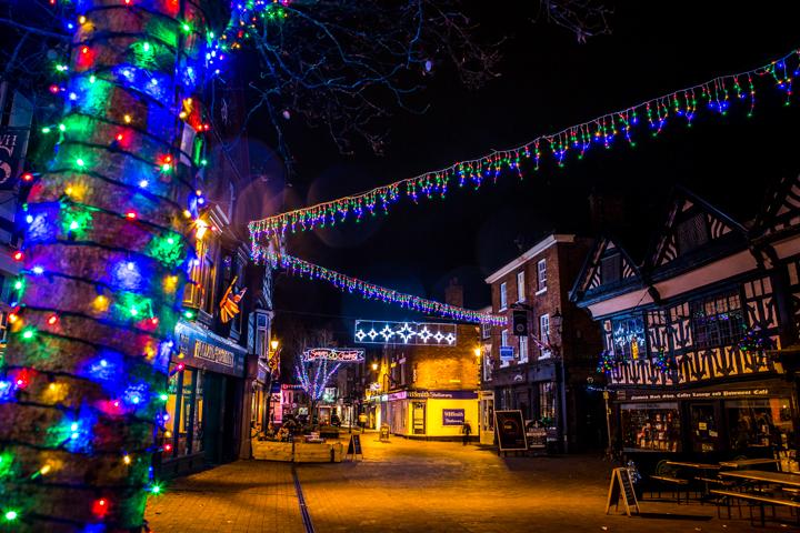 nantwich christmas lights