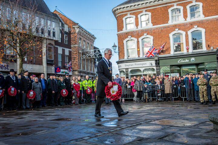 Armistice centenary in Nantwich 3