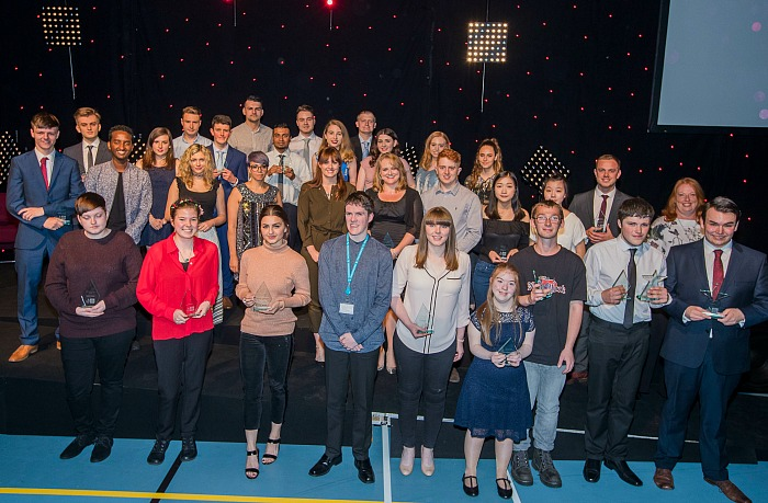 South Cheshire College, Crewe student awards 2017