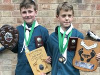 38th South West Scouts in Nantwich celebrate Cheshire Hike success