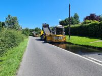 Drivers warned as CEC steps up road repairs programme