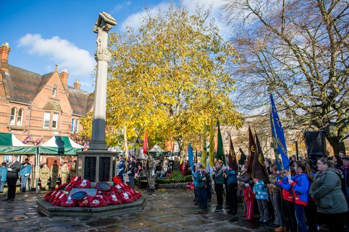 Armistice centenary in Nantwich 12